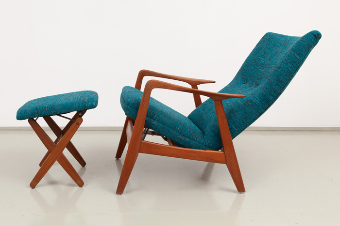 Lounge Chair ottomane Relling