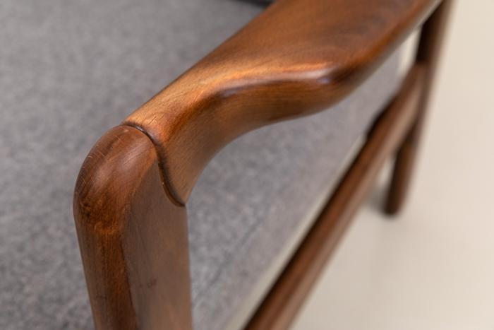 designklassiker holzarmlehnen furniture