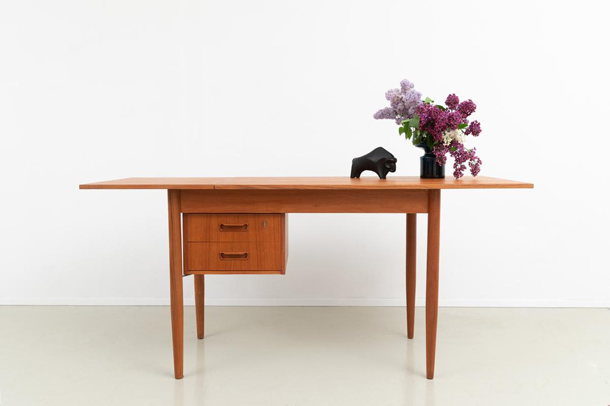 Tibergaard Schreibtisch doppelter Schubladencontainer