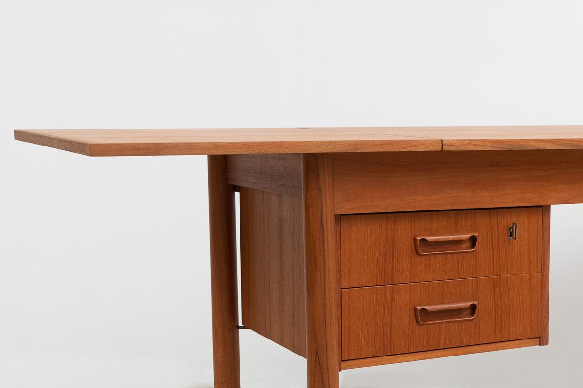 massiven Griffmulden Tibergaard Schreibtisch