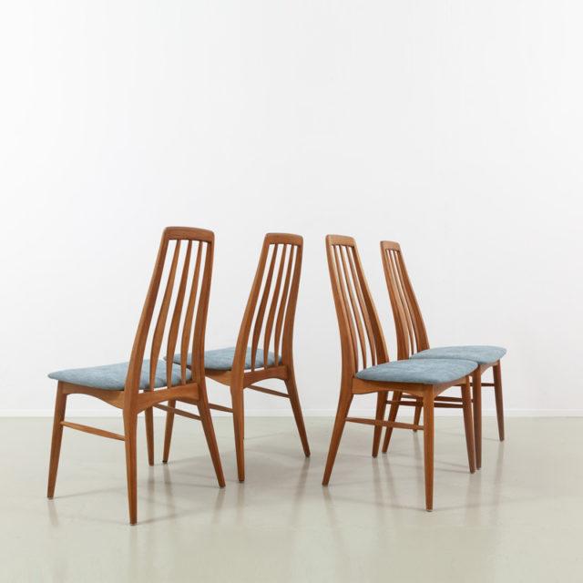 Set von 4 Eva Chairs von Niels Koefoed (810)