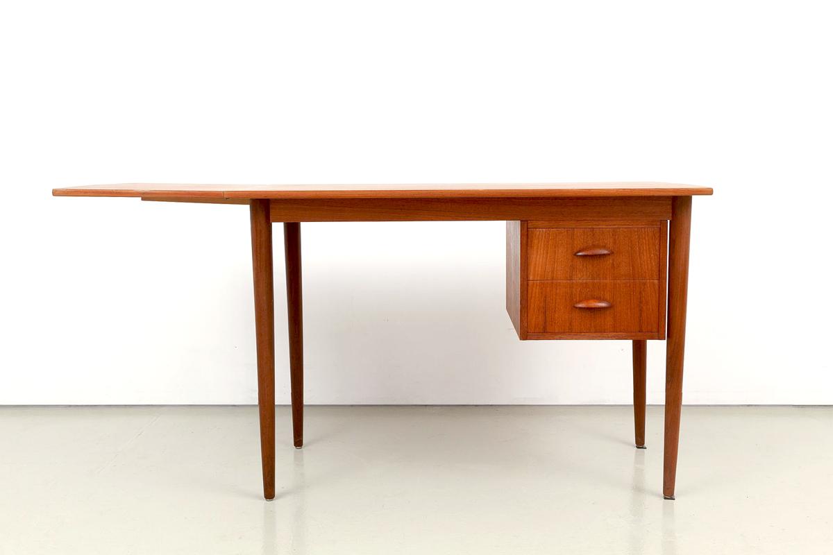 Teak Schreibtisch 60er