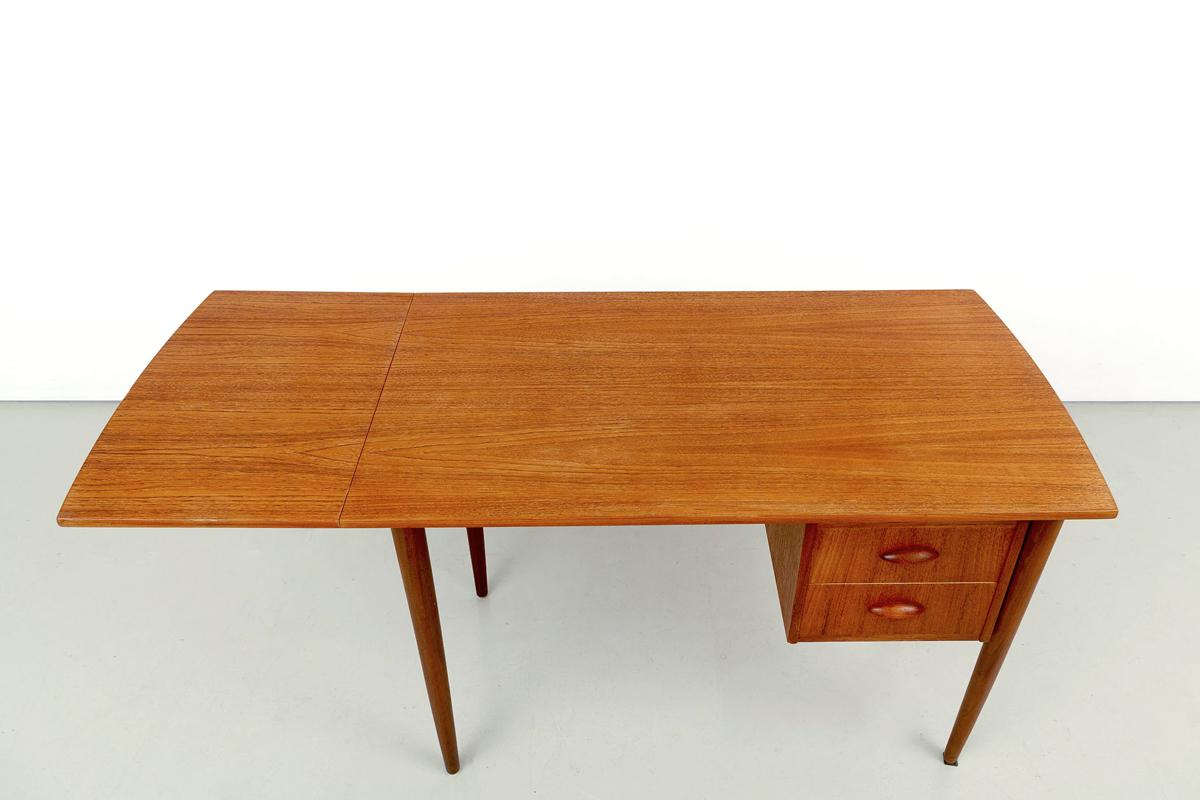 Teak Schreibtisch mid-century