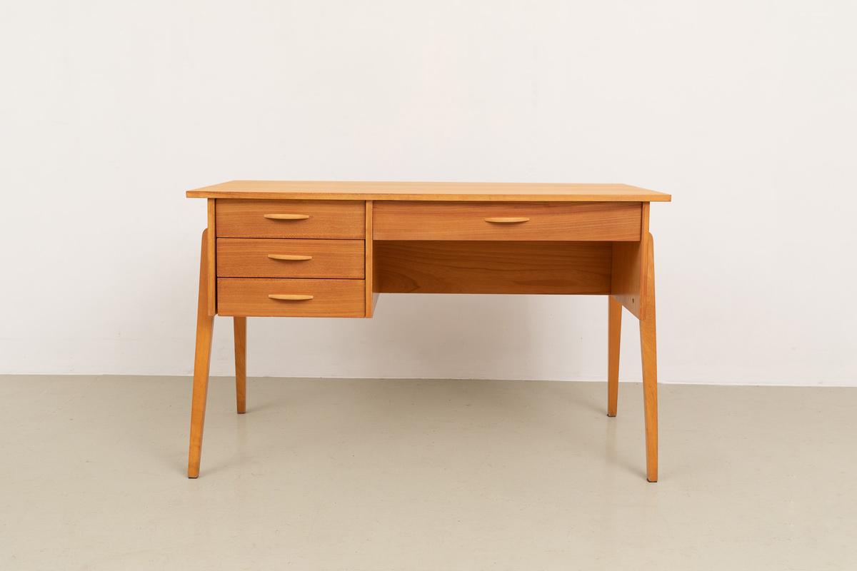 Schreibtisch 60er holz Designklassiker