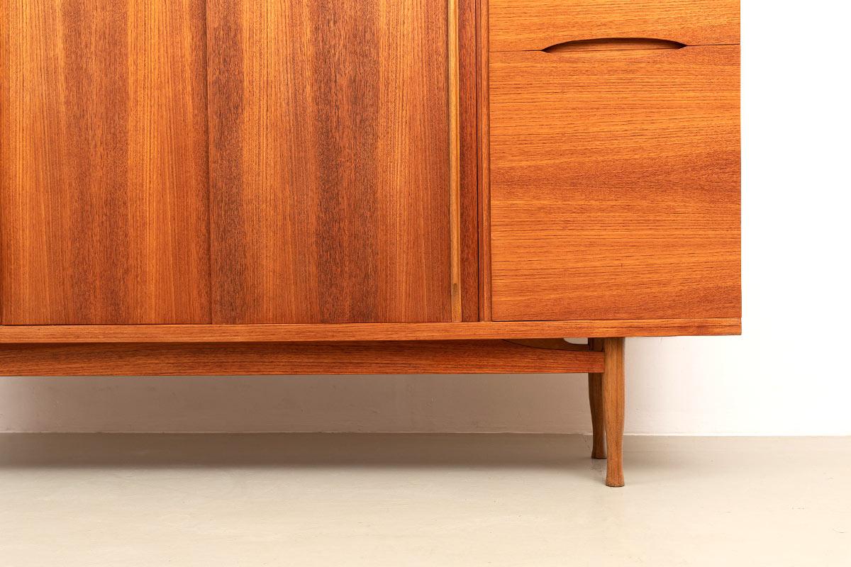 furnier Sideboard Designklassiker 60er