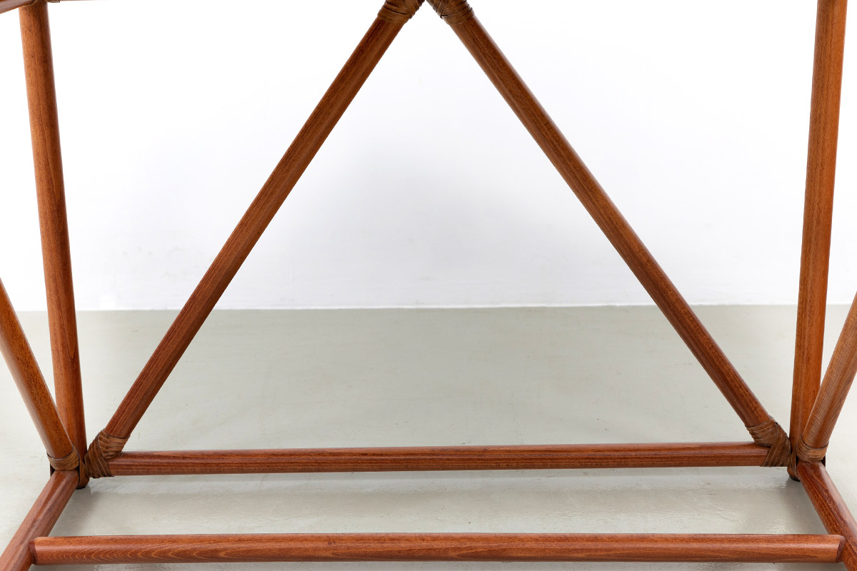 Babus Tischbeine Lederbindung Schreibtisch