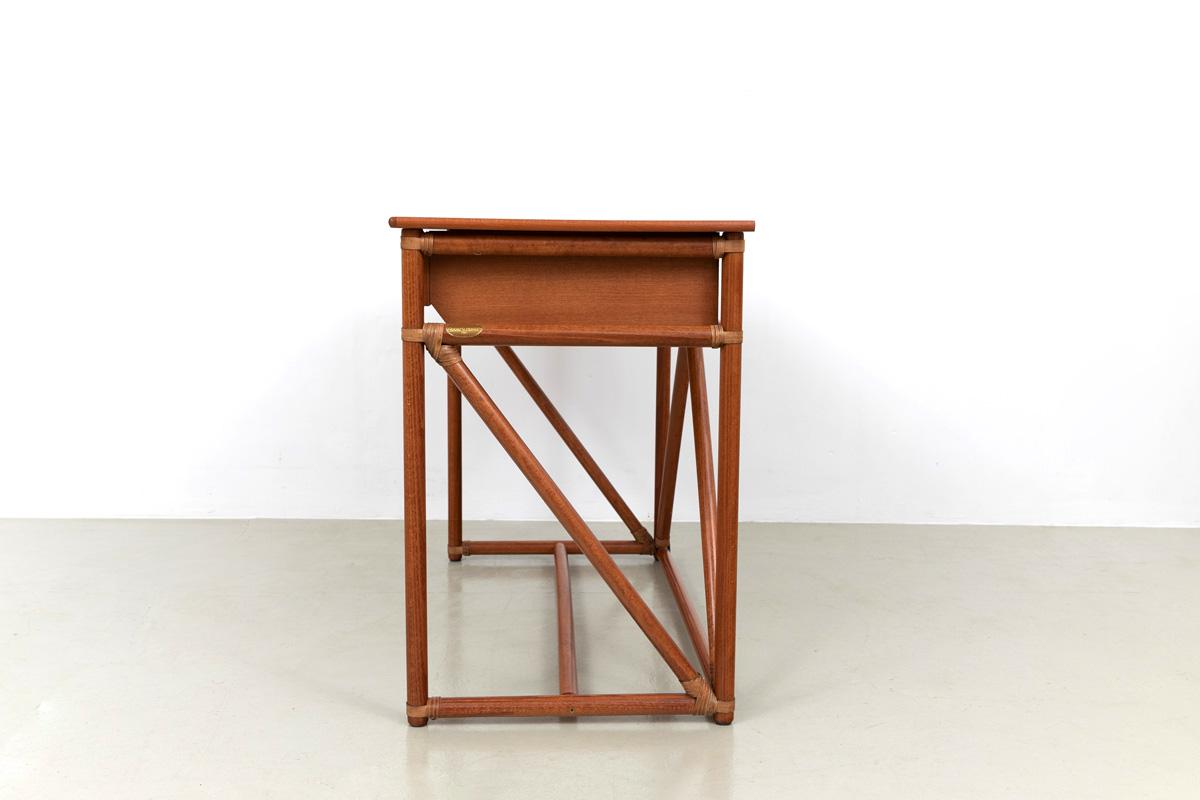 Bambus Konsole Schminktisch Schreibtisch