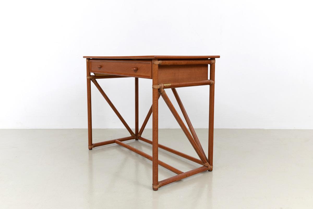 Schreibtisch Rattan Desk Konsole