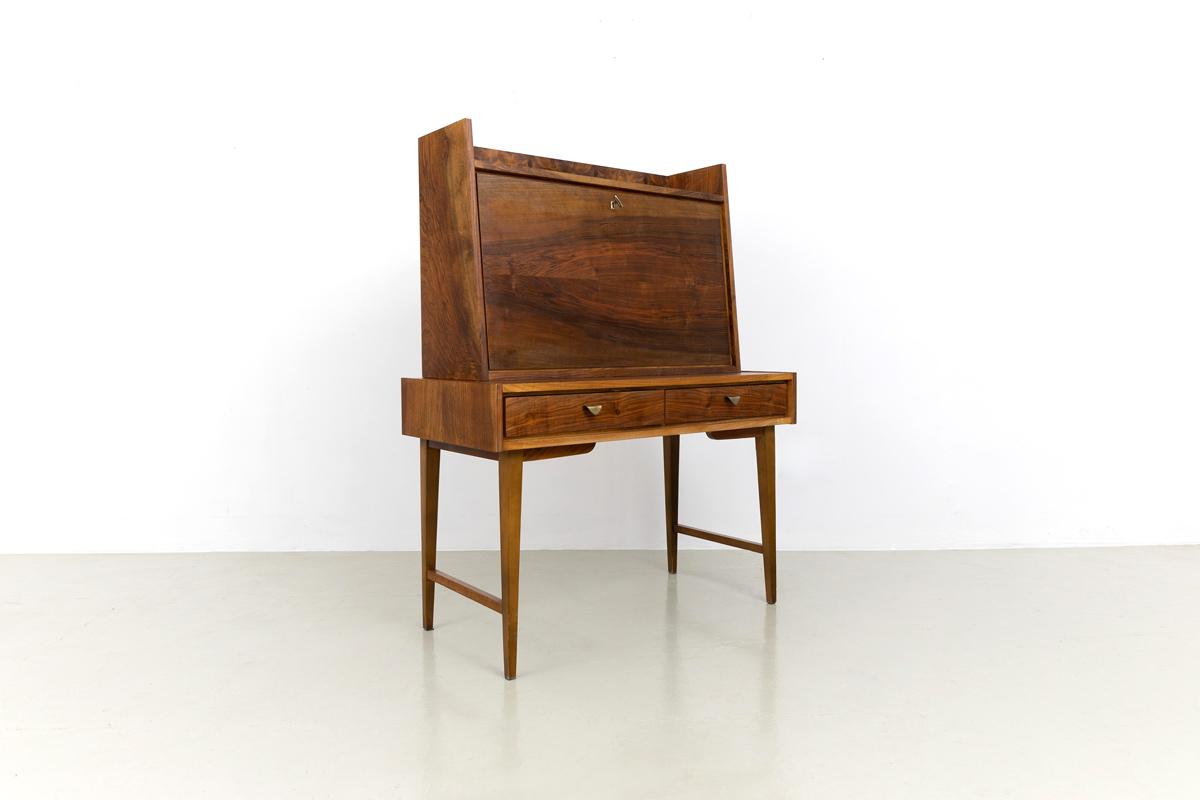Schreibtisch Nussbaum furniert Desk