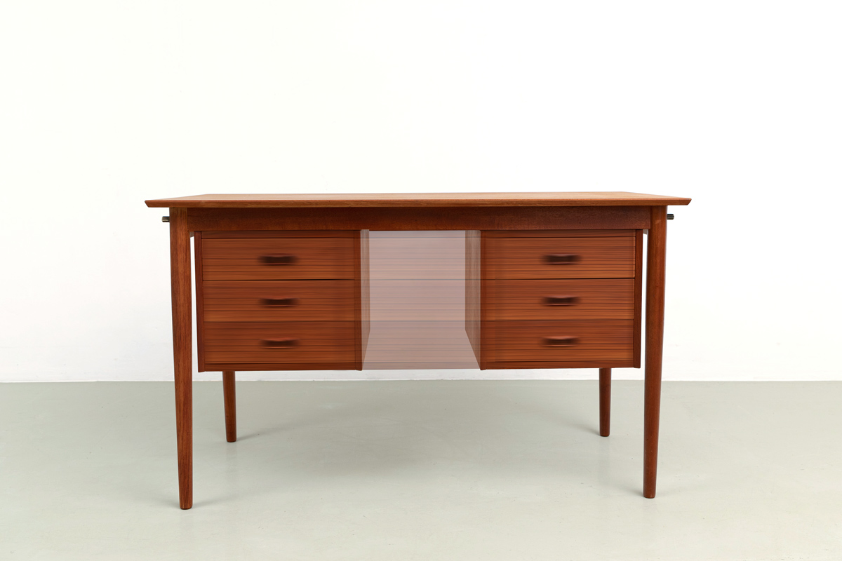Arne Vodder home office Teak