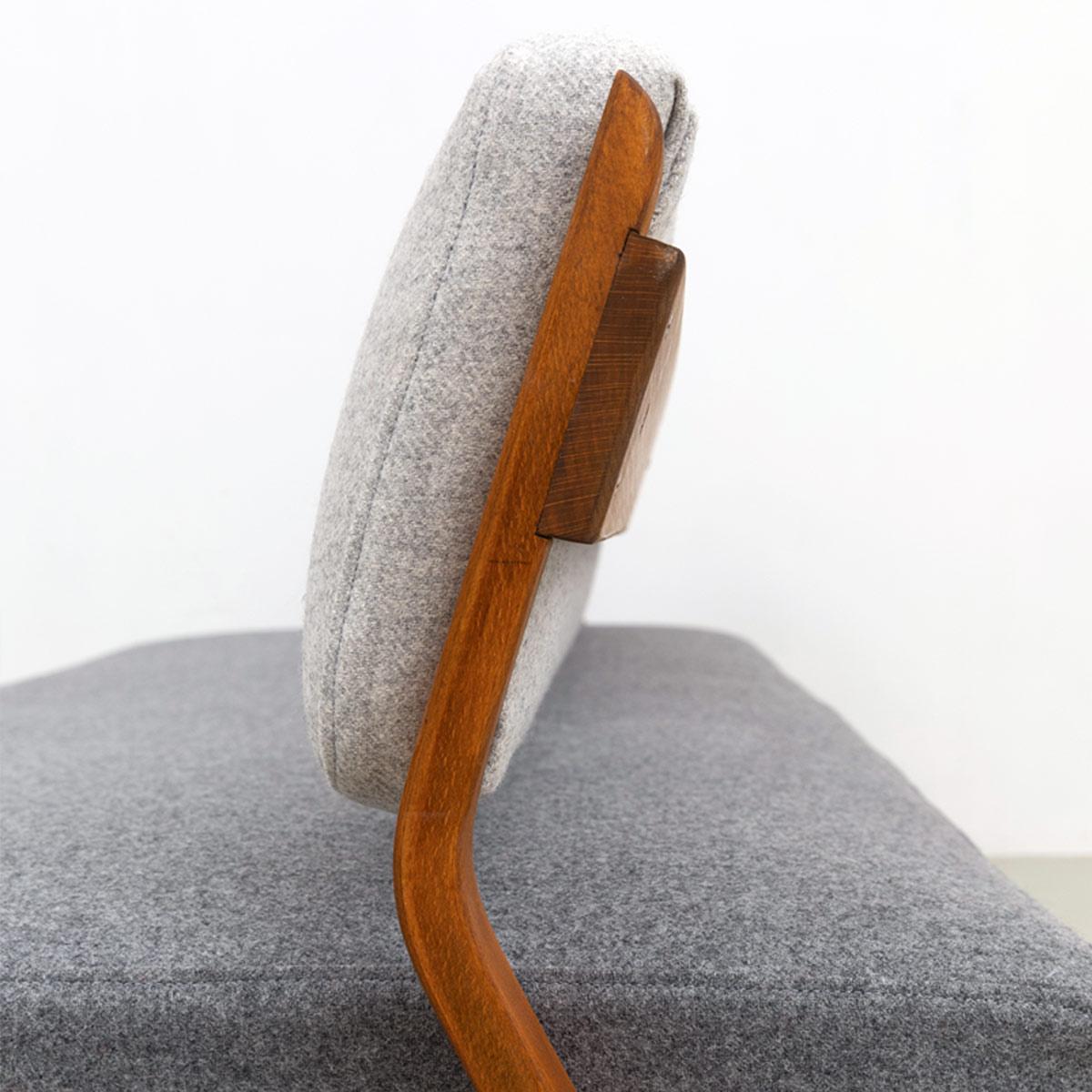 Daybed Sofa 50er Jahre Wollfilz