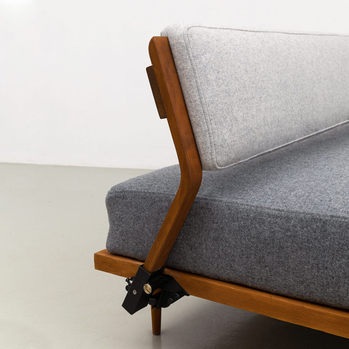 Daybed Sofa Messing 50er