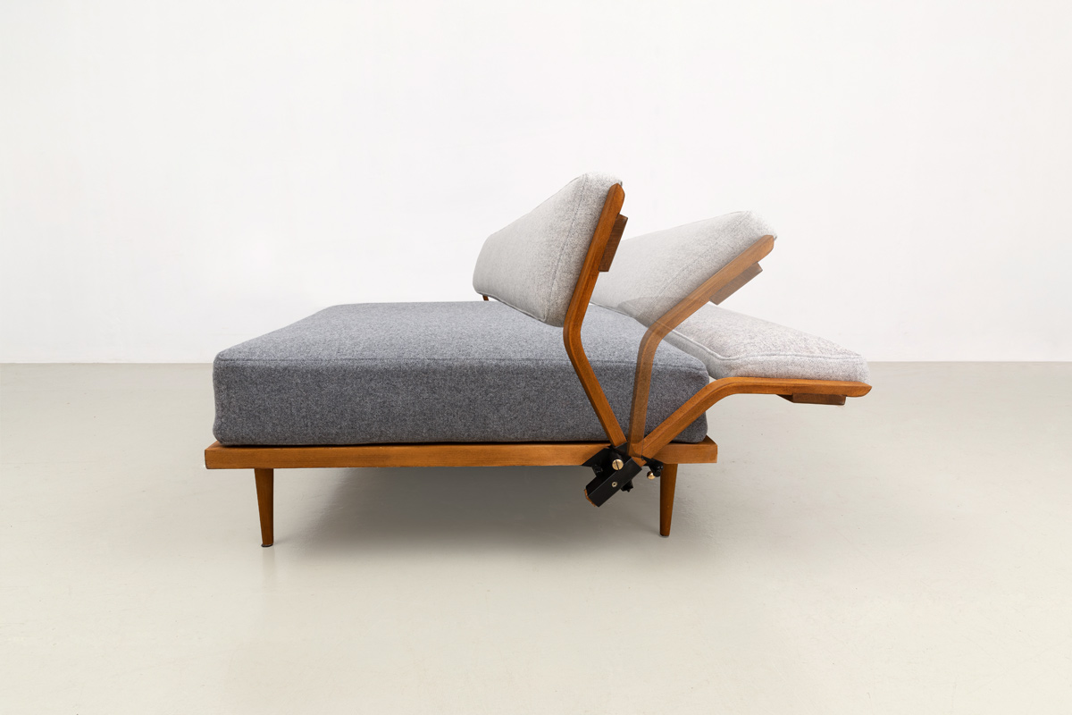 Daybed Schlafsofa Midcentury Klappsofa