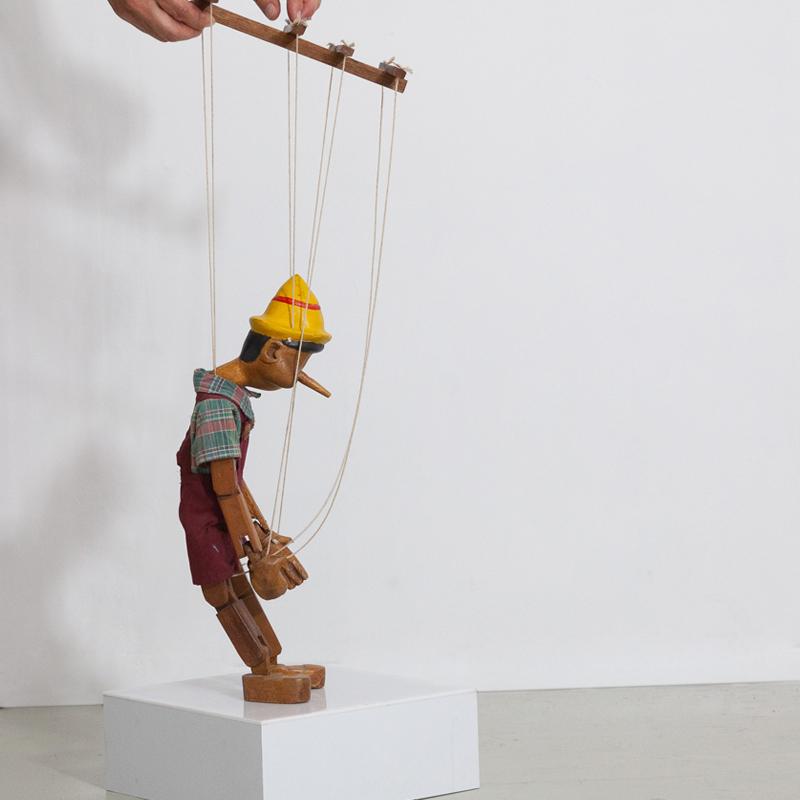 Pinocchio Marionettenfigur