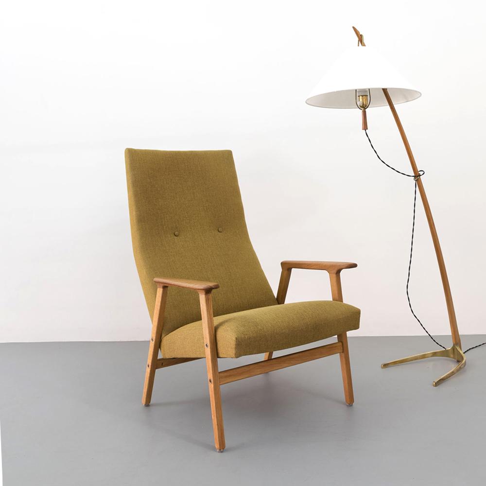 hochlehner Sessel midcentury 60er