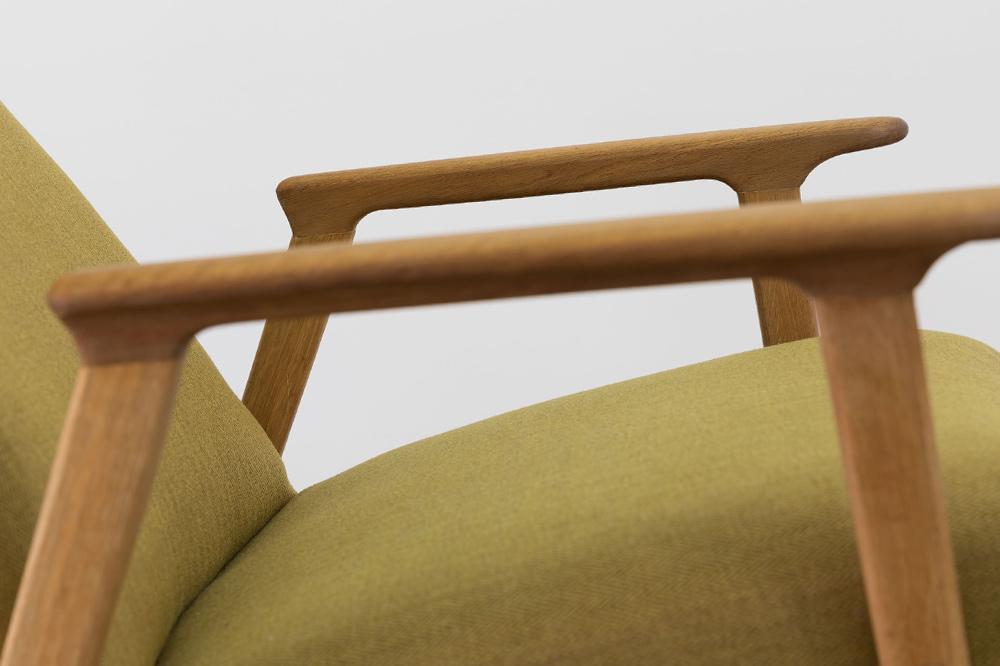 eiche sessel furniture 60er
