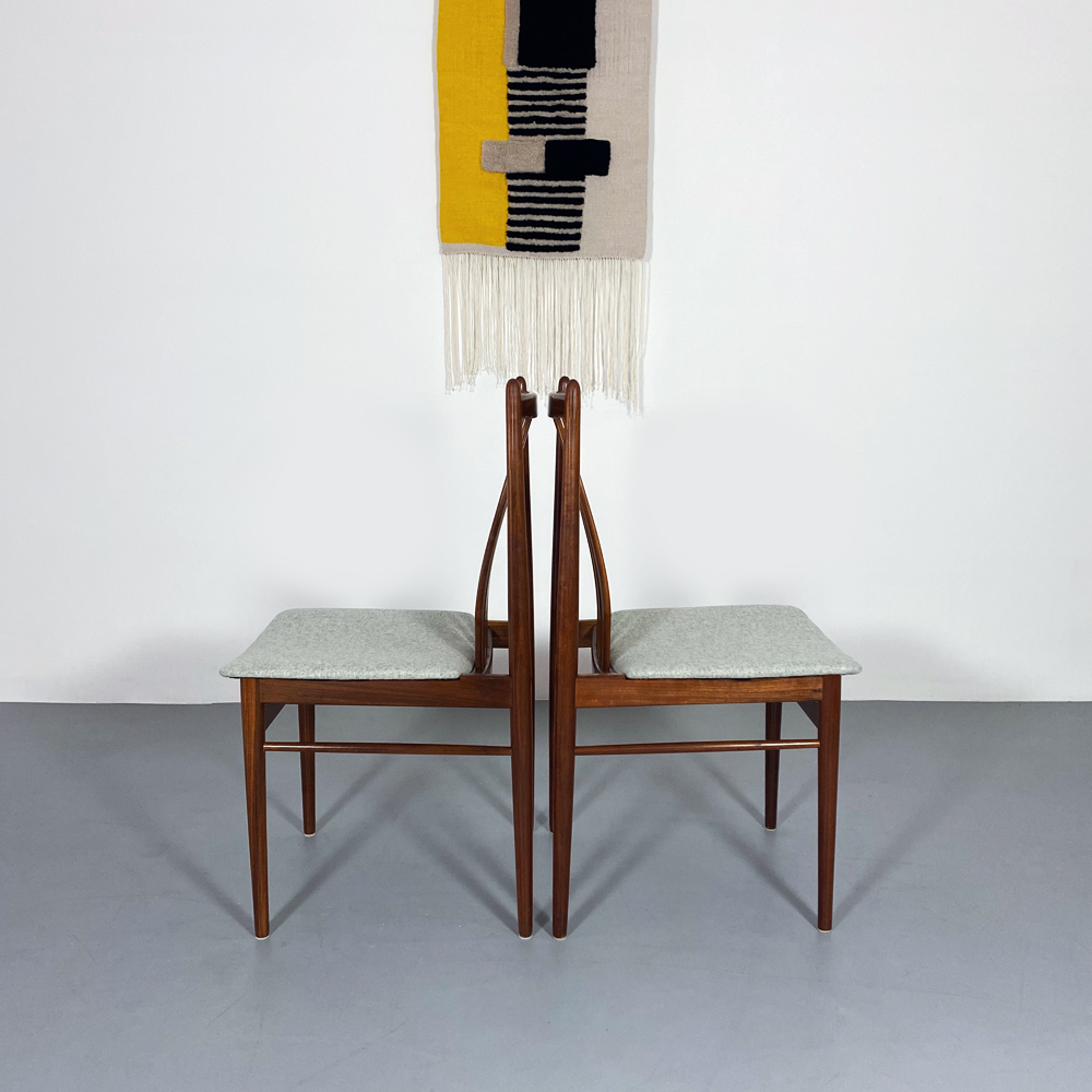 set esszimmerstühle designklassiker 60er