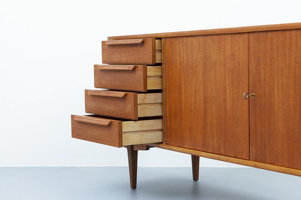 Sideboard 60er Jahre WK Möbel Detailansicht