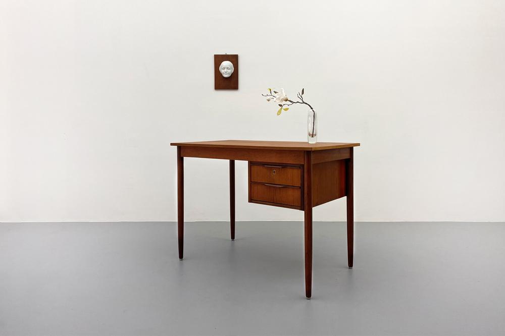 Schreibtisch midcentury designklassiker Homeoffice