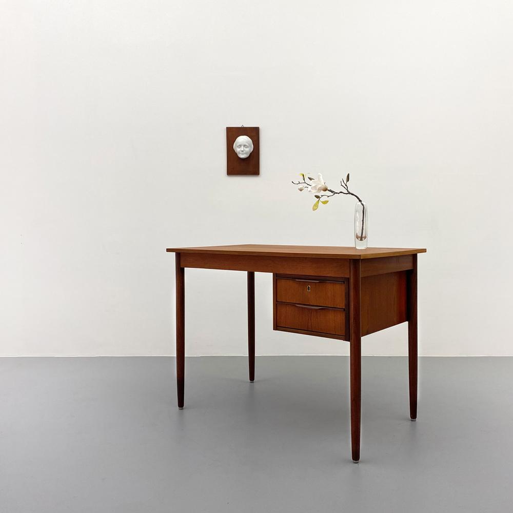 Schreibtisch teak palisander vintage