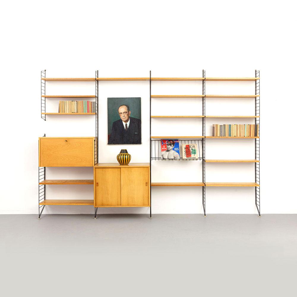 Nisse Strinning, Regalsystem, designklassiker