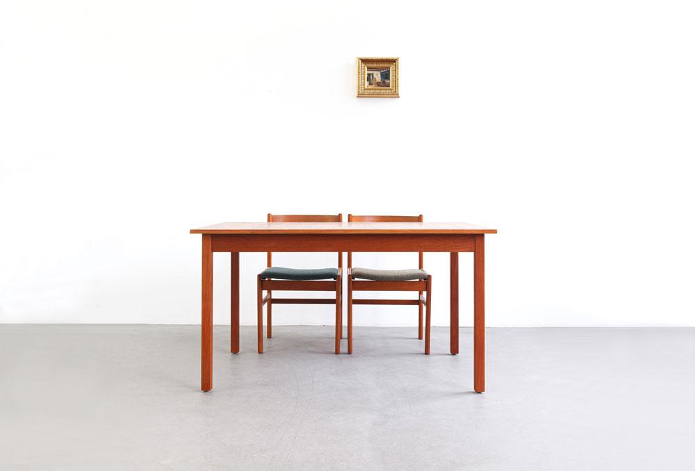 Teakholz Esstisch, Nils Jonsson, designklassiker