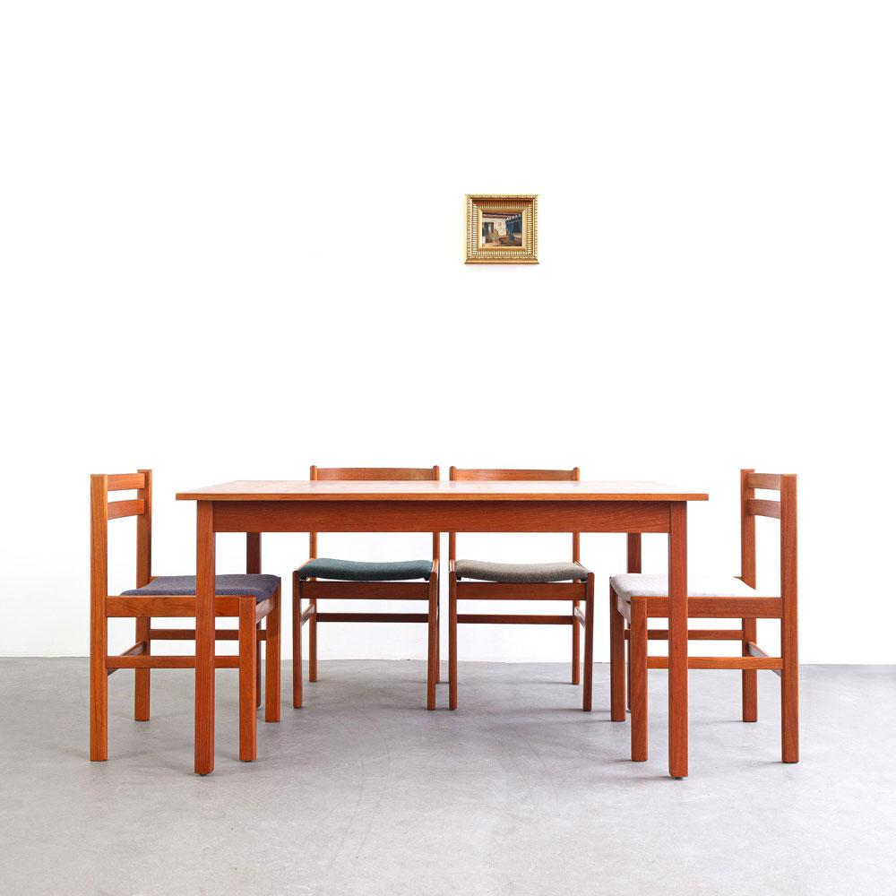 Teak Tisch, Schweden, Hugo Troeds, designklassiker