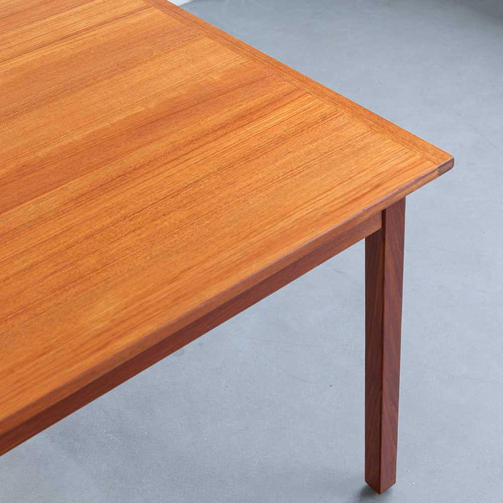 Vintage, Esszimmer-Tisch, Teak, designklassiker