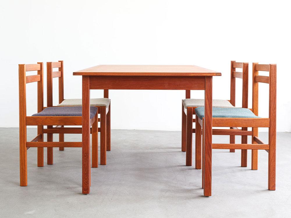 Esstisch, Teak, 60er, designklassiker