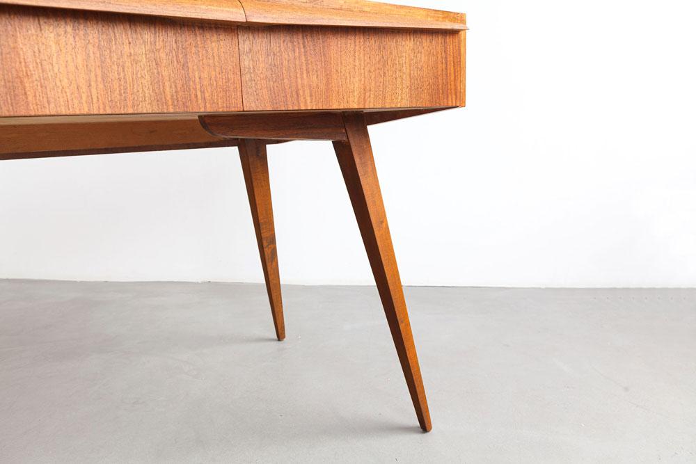 Tisch, Office, Nussbaum, Mid-century, designklassiker