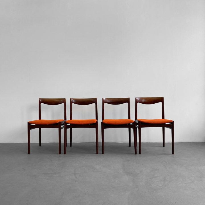 60er Jahre Palisander Stühle