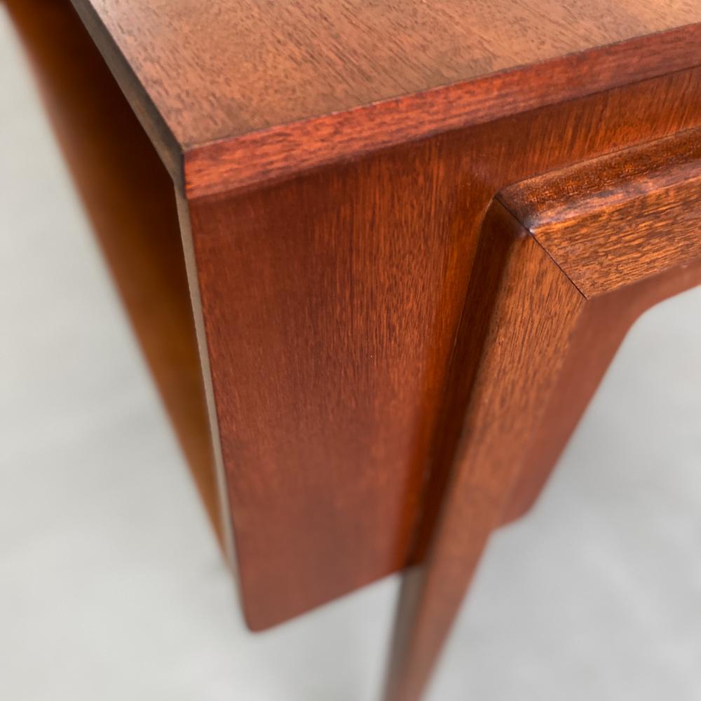 teak Schreibtisch vintage vodder