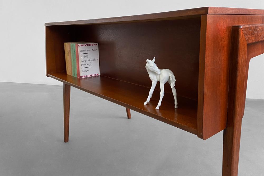 Schreibtisch vodder teak 60er