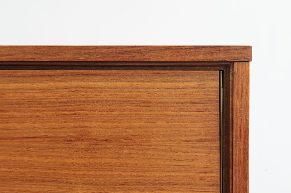 sideboard furnierbild Teakholz vintage