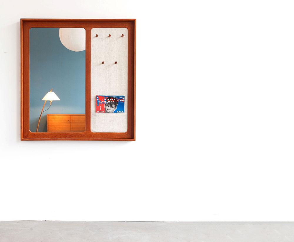 Garderobe Teak, 60er Jahre, designklassiker