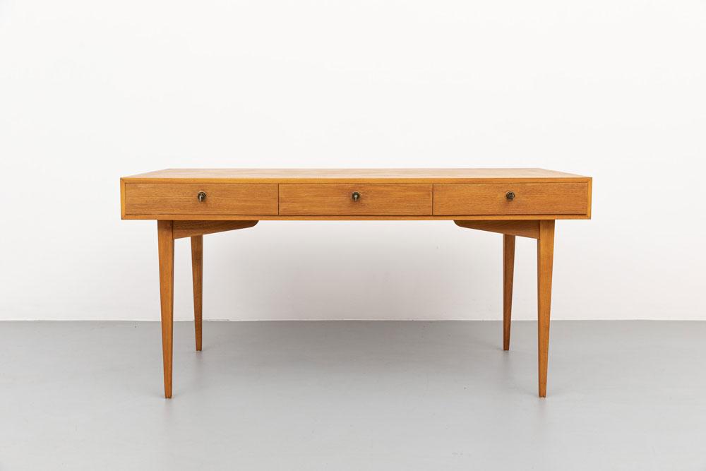 Schreibtisch, Kirschholz, vintage