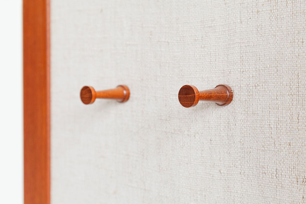Flurgarderobe, Aksel Kjersgaard, Dänemark, designklassiker