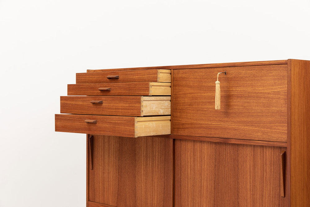 Sideboard, Schubladen, Vintage, 60er