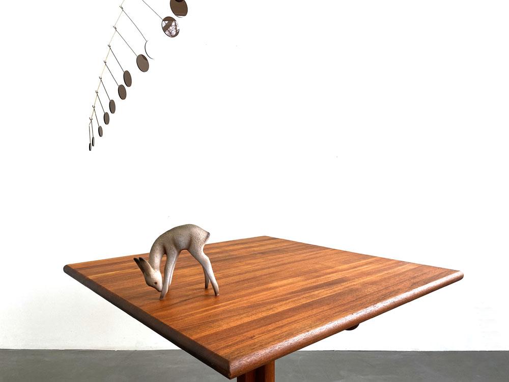 Tisch, Esszimmer, Teakholz, 60er