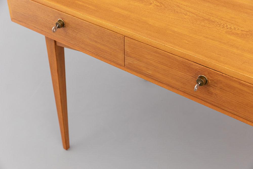 Tisch, Desk, Kirschholz, Mid-century