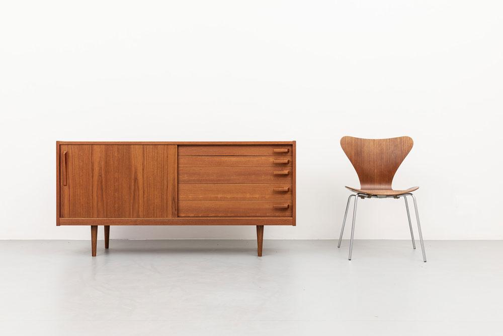 Sideboard, Mid-century, 60er Jahre, Teak