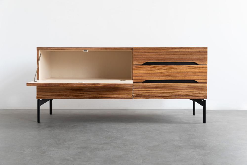 zebano anrichte vintage designklassiker