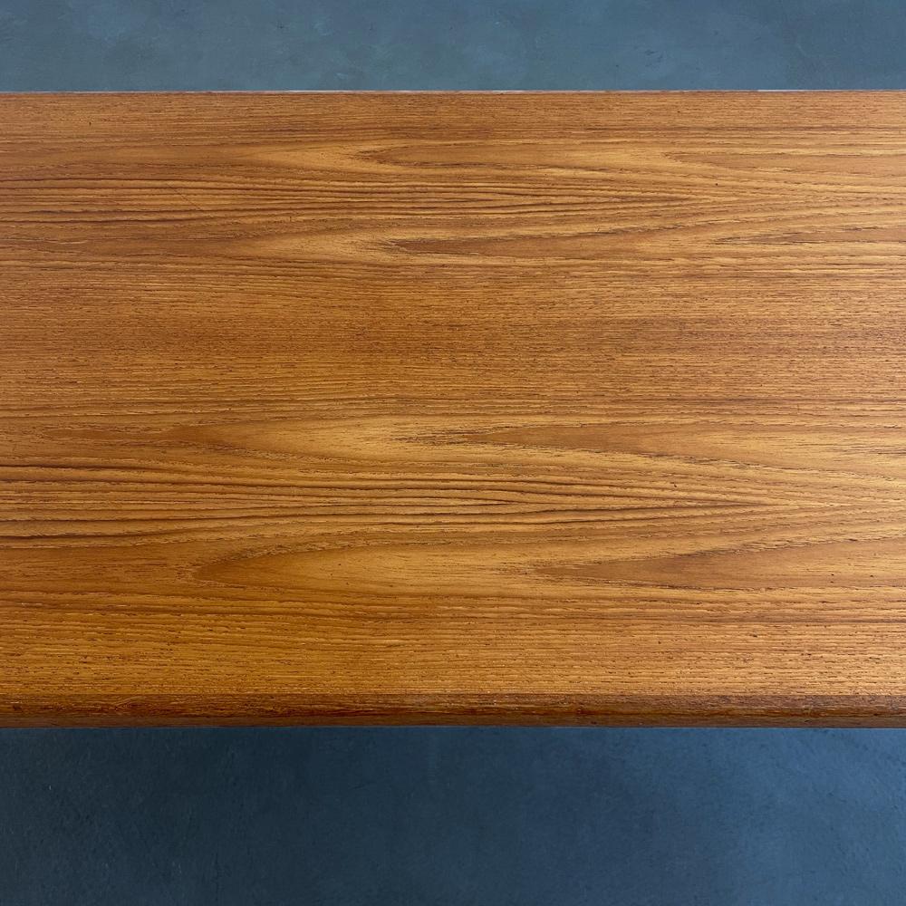 Maserung designklassiker Mid-Century Tisch Teakholz