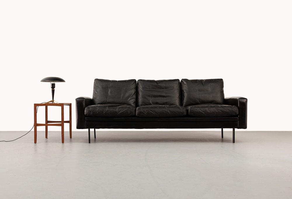 Leder Sofa Deutschland, 60er Jahre