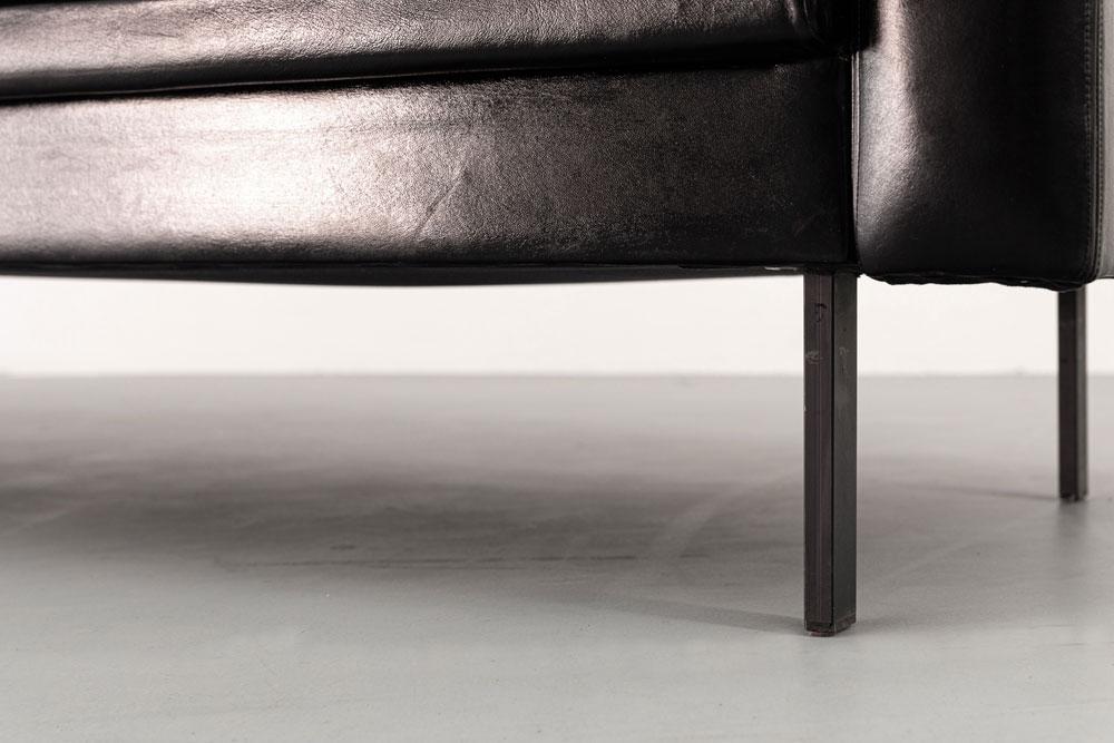 Sofa, Leder, German Design, 3er-Sitz