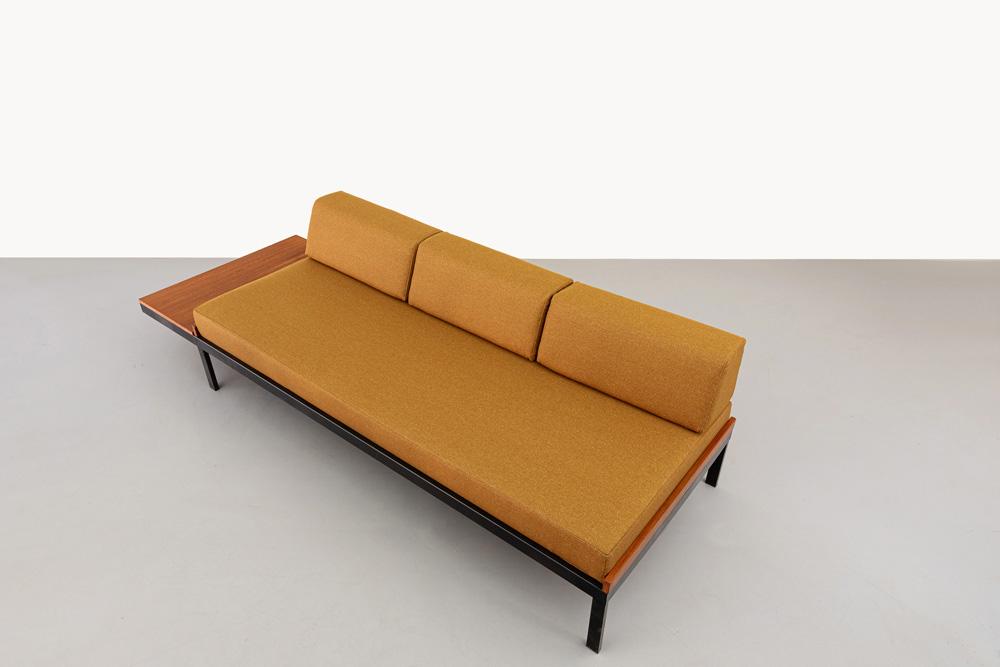 Teakholz Sofa, Vintage, Koninklijke Auping