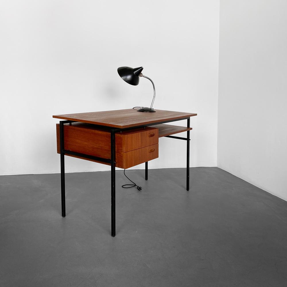 teak Schreibtisch vintage designklassiker