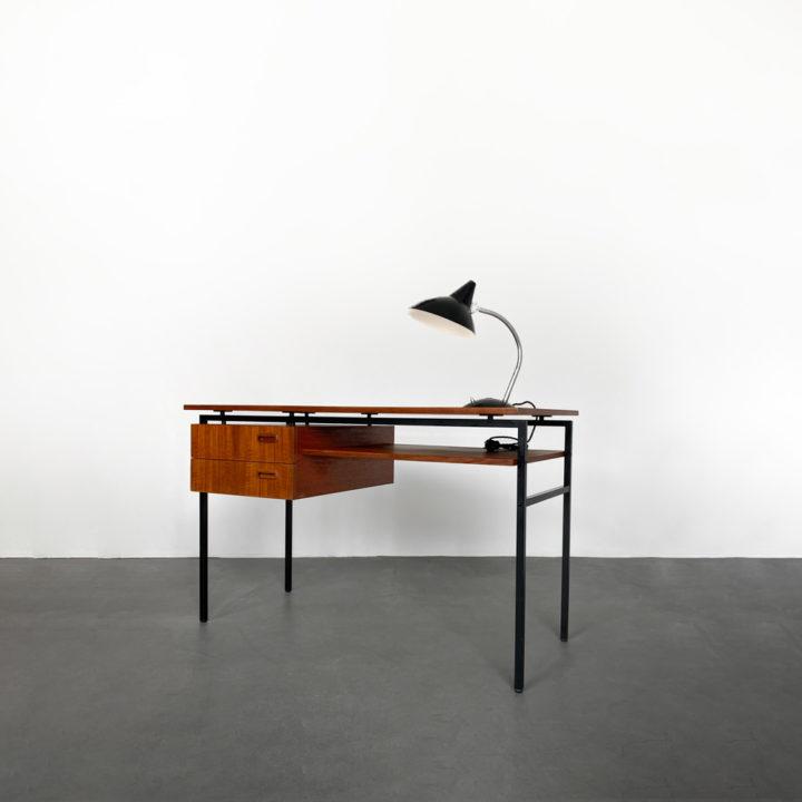 60er Jahre Teak Schreibtisch