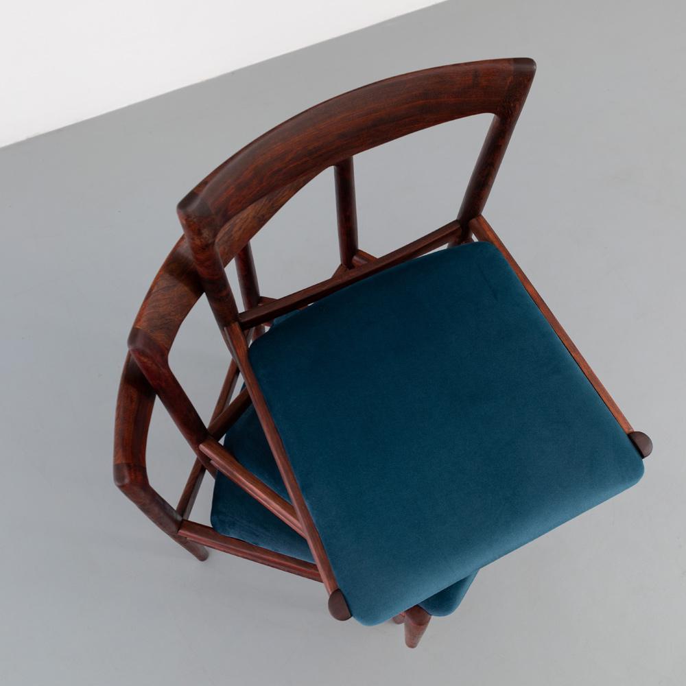Palisander Stühle Polsterung