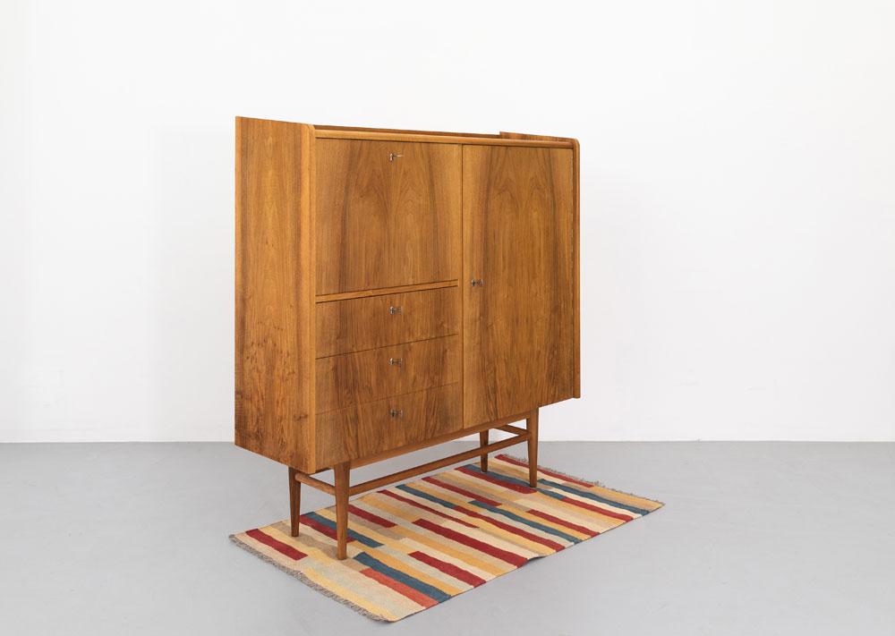 Sideboard 50er Jahre, DWH, Nussbaum